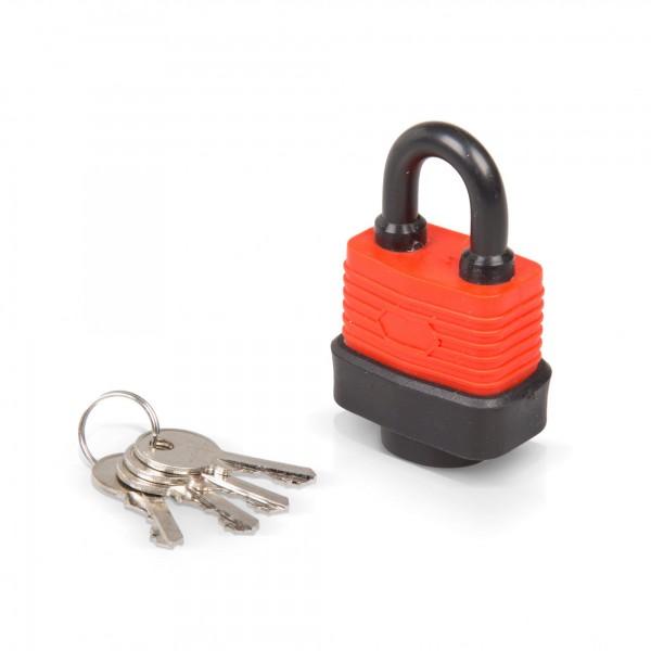 30 mm Vorhängeschloss wasserdicht mit 4 Schlüsseln