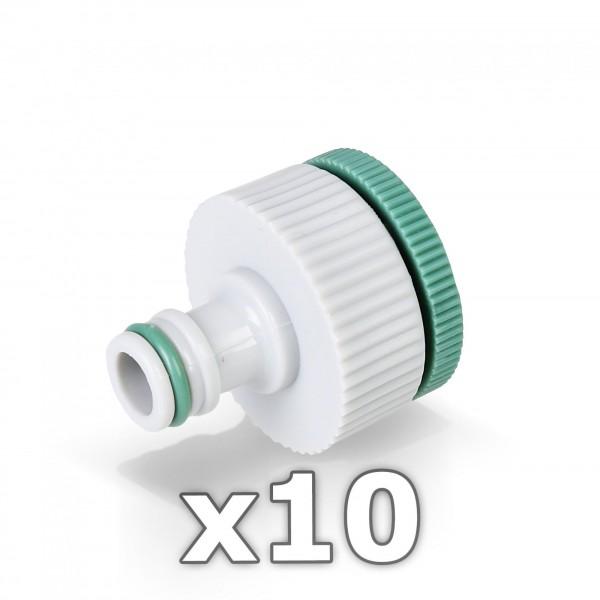 10 x Berlan Hahnstück für Wasserhahn 3/4'' + 1 Zoll - GREEN LINE -
