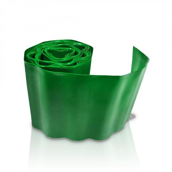 Rasenkante 15 cm x 9 m - grün