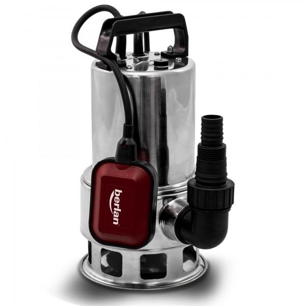 Berlan - Schmutzwasser Tauchpumpe komplett Edelstahl 550 Watt / 10.500 L/h - BTP