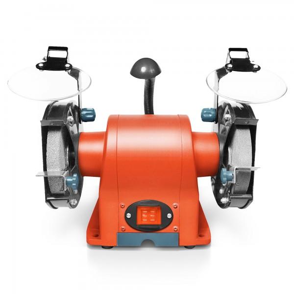 350 Watt Doppelschleifer mit Arbeitsleuchte - 150mm K36/K80