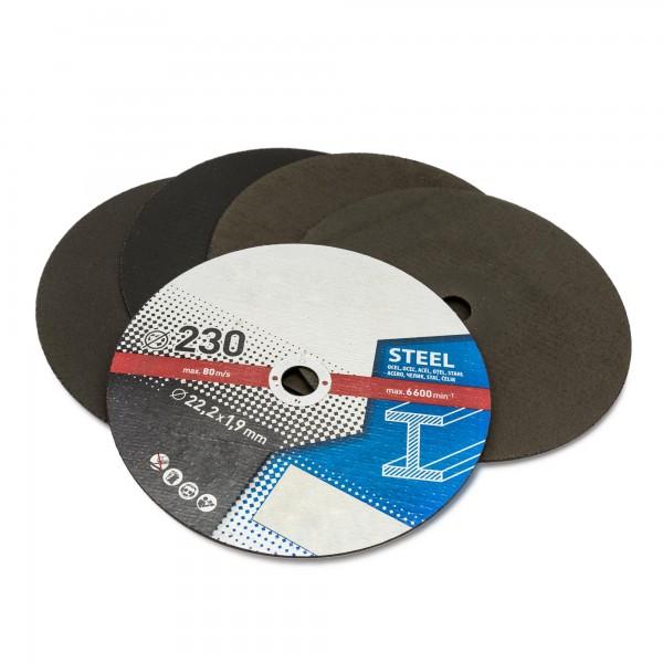 5 x Trennscheibe Metall - 230 mm