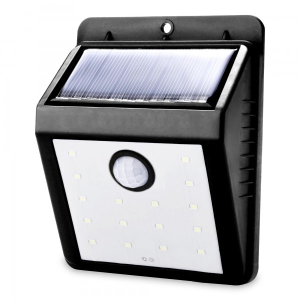 Solar Wandleuchte mit Bewegungsmelder - 120 Lumen