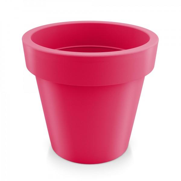 Kunststoff Blumentopf - rotviolett - Höhe 181 mm