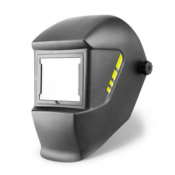 Schweißmaske mit 100x85mm Sichtfeld DIN13/16