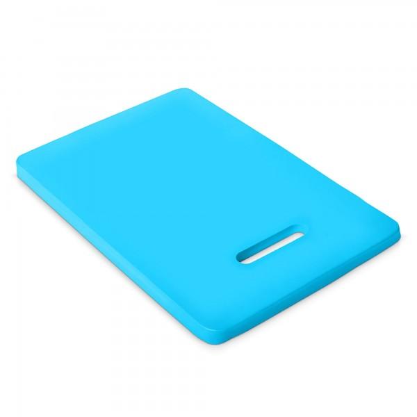 Kniekissen 40 x 20 cm blau mit Griffloch