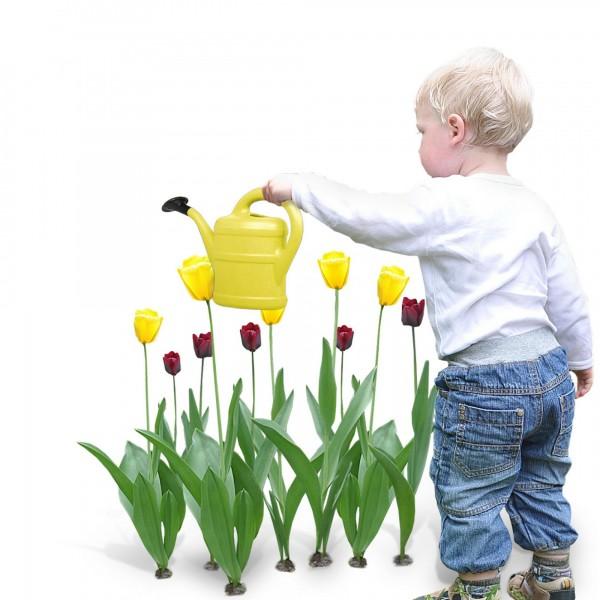 Kindergießkanne 1 Liter gelb