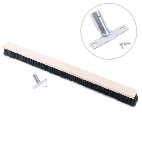 Besen 100 cm - Synthetikborste mit Holzkorpus für Ø 24 mm Stiele