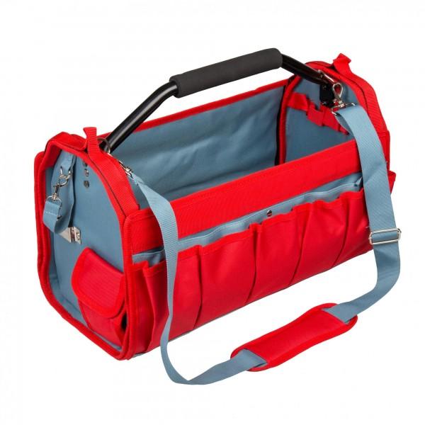 Werkzeugtasche mit Schultergurt - 490 x 230 x 280 mm - 31 Fächer