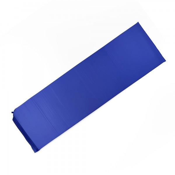 Camping Liegematte - selbstaufblasend - blau - 186 cm