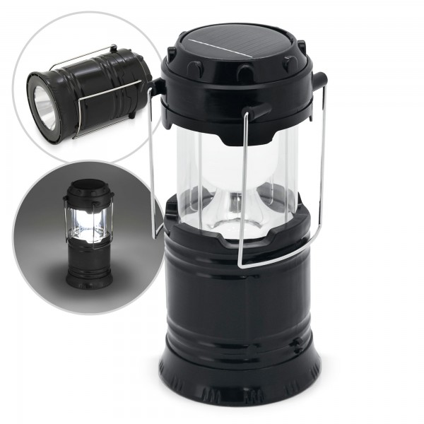 2in1 Akku Solar Campingleuchte LED - 20/60 Lumen