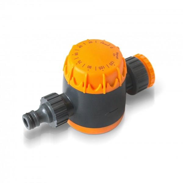 Manuelle Bewässerungsuhr orange - Abschaltzeit max. 120 Min.
