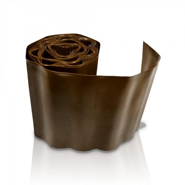 Rasenkante 20 cm x 9 m - braun