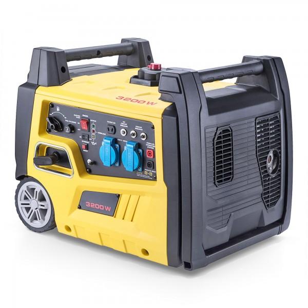 Digitaler Inverter Stromerzeuger - 3200 Watt - 5,4 PS + E-Start