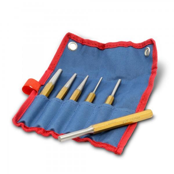 6 tlg. CV Splinttreibersatz - Größen 3 bis 8 mm - 150 mm Länge