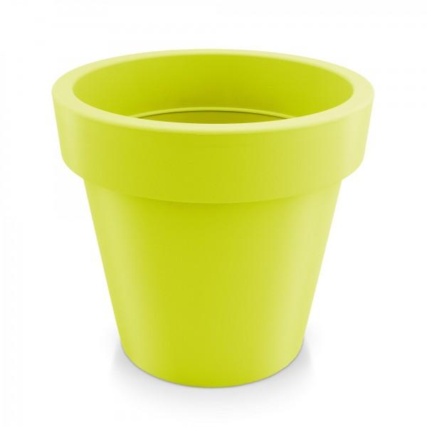 Kunststoff Blumentopf - mintgrün - Höhe 318 mm