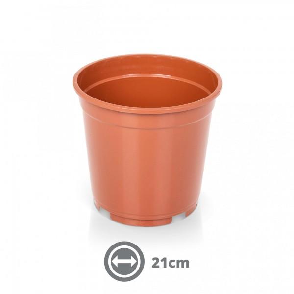 Containertopf 21 cm 5,0 l terracotta