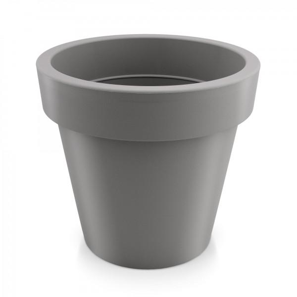 Kunststoff Blumentopf - grau - Höhe 318 mm