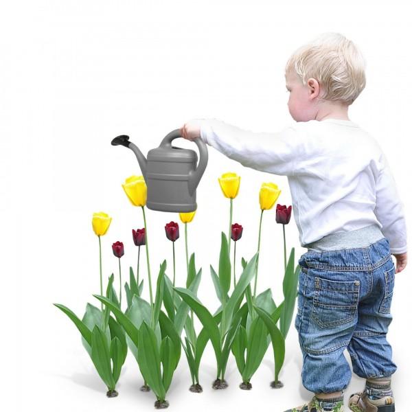 Kindergießkanne 1 Liter anthrazit