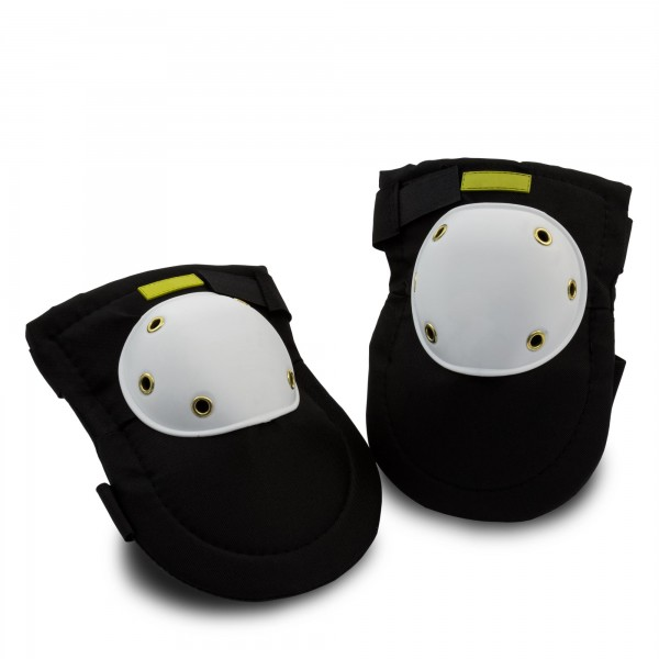1 Paar Knieschoner - schwarz/weiß - 25 cm