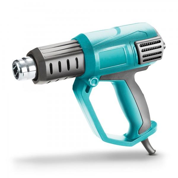 2000 Watt Heißluftpistole regelbar mit LCD-Display
