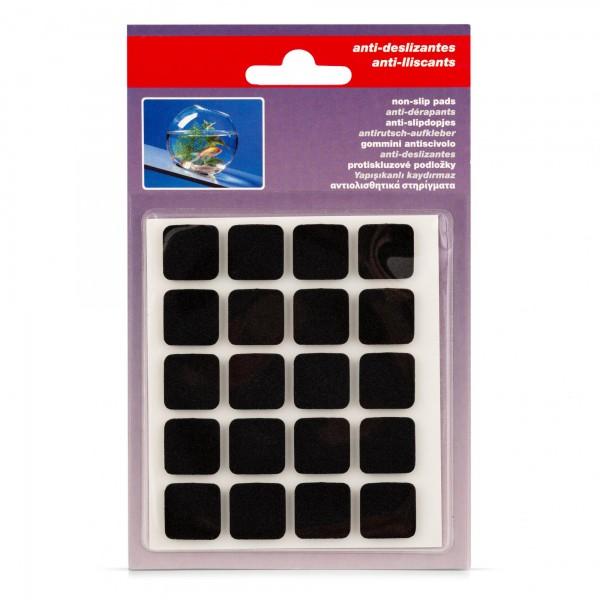 20 x Anti-Rutsch-Pad - selbstklebend - je 17 x 17 mm
