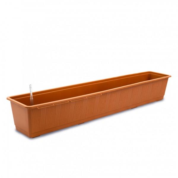 Bewässerungskasten 100 cm AquaGreen terracotta