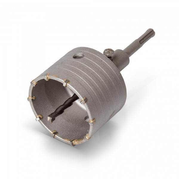 SDS Plus Bohrkrone - 79 mm Durchmesser - 10 Segmente