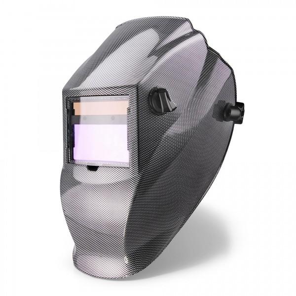 Solar Auto-Schweißmaske Karbon 100x50mm