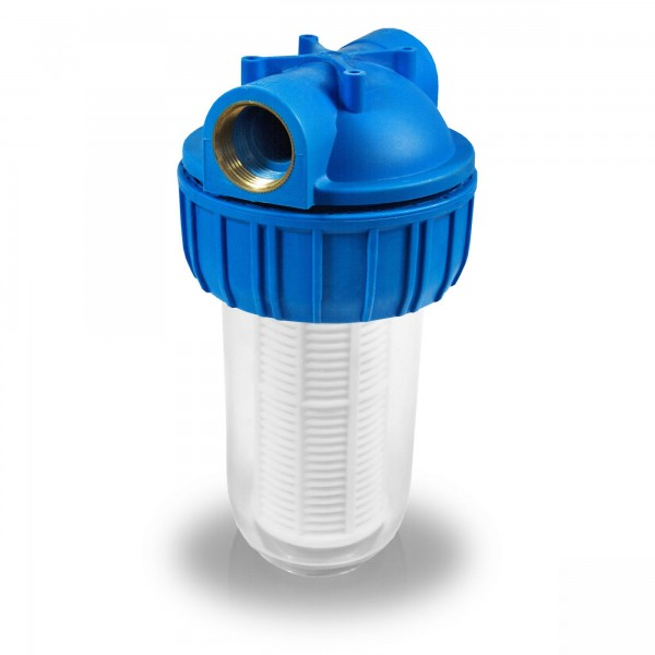 "Berlan Pumpenvorfilter 5"" (12,7cm) - 3000 l/h - 1"" IG"