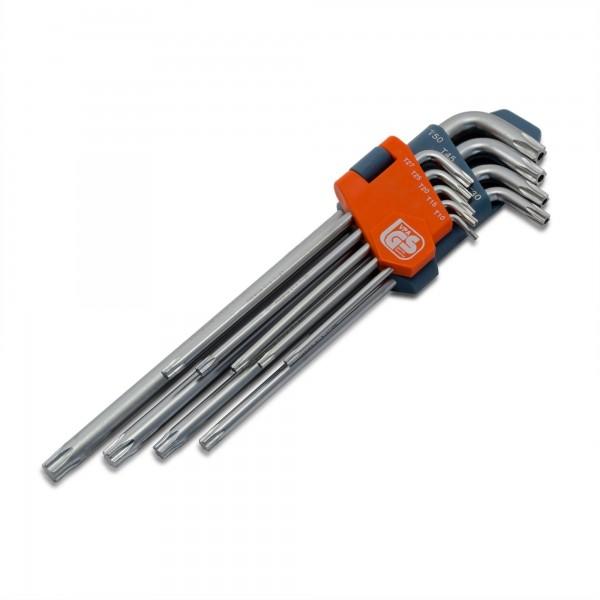 9 tlg. CV Torxschlüsselsatz PREMIUM - Größen T10 - T50