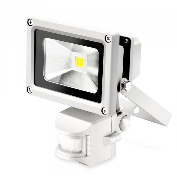 LED-Lampe mit Bewegungsmelder 10 Watt / 800 Lumen