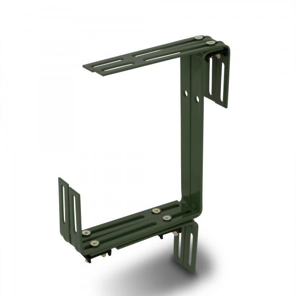 Blumenkastenhalter TYP C grün bis 30 kg