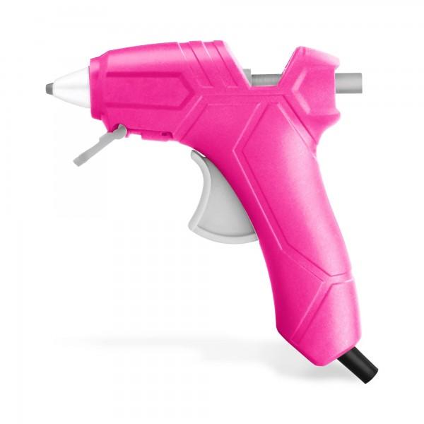 Damen Heißklebepistole rosa - 25 Watt - Ø 7,2 mm
