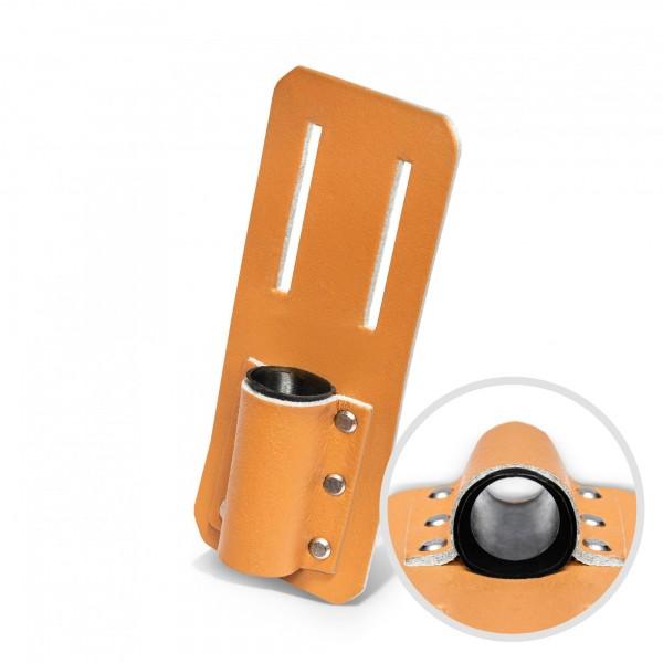 Leder Knarrenhalter für Gürtel - 160 x 75 mm