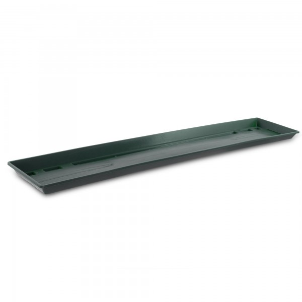 Blumenkastenuntersetzer 80 cm dunkelgrün