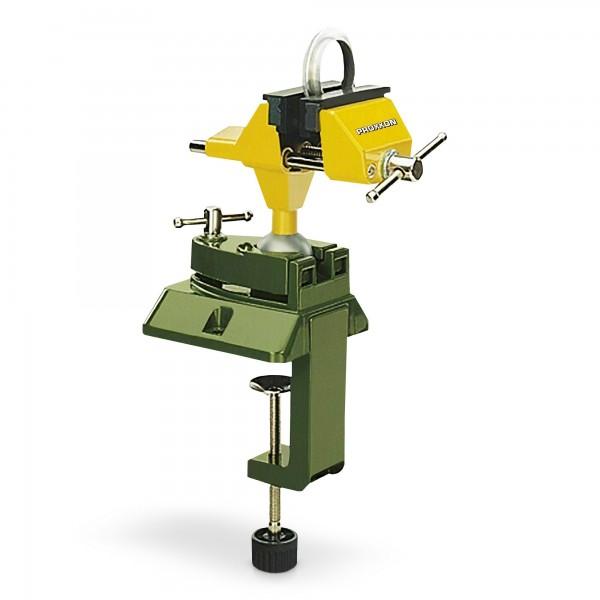 Feinmechanikerschraubstock mit Zwinge & Kugelgelenk - 70mm