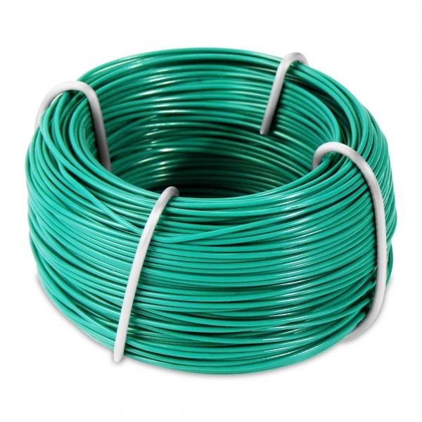 50 m Gartendraht grün - kunststoffummantelt - 0,5 mm